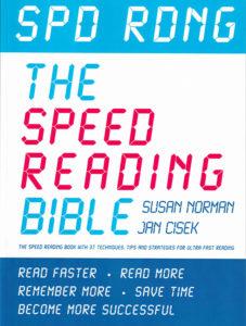 SPD RDNG Speed Reading Bible by Susan Norman & Jan Cisek